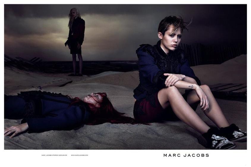 Miley Cyrus Marc Jacobs 2014 Nylon